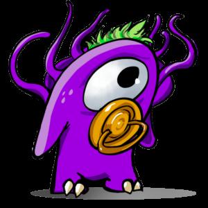pequeño monstruo mascota shokaweb