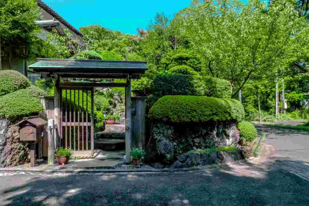 ejemplo jardin privado