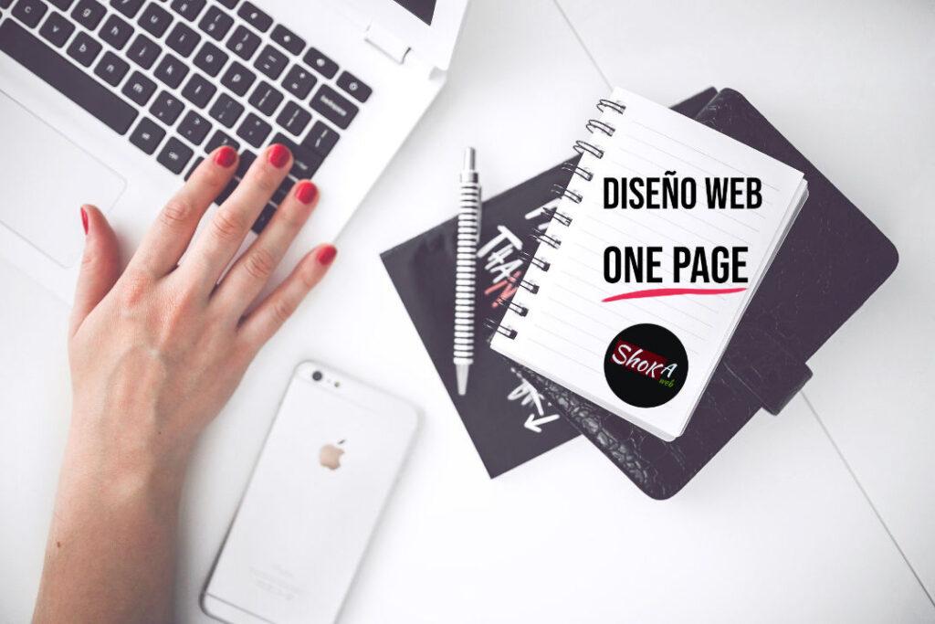 tarifa de diseño web one page